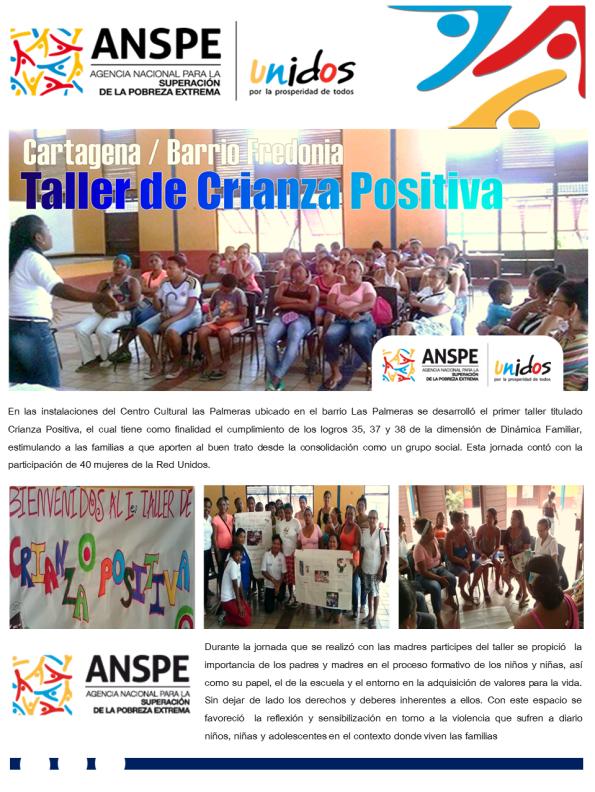 Cartagena / Barrio Fredonia - Taller de Crianza Positiva